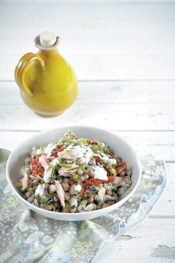 salata me mavromatika fasolia k pestrofa IMG_0021