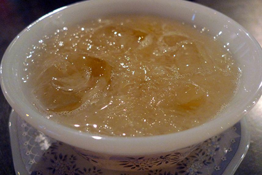 soupa me fwlia pouliwn