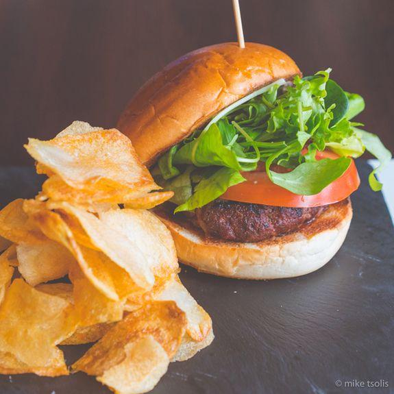 Rib-Eye-Burger