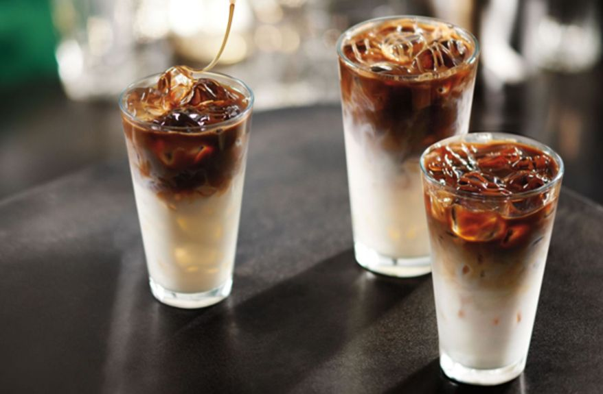 Starbucks Iced Macchiato Trio new