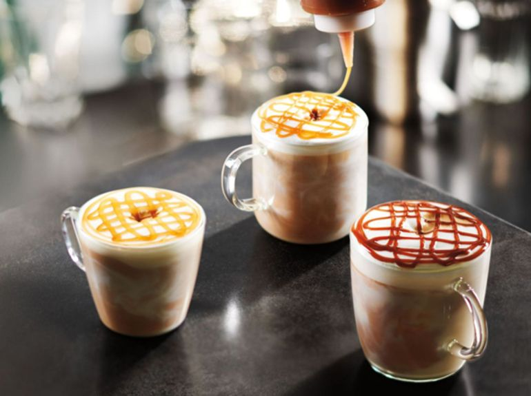 Starbucks Macchiato Trio new