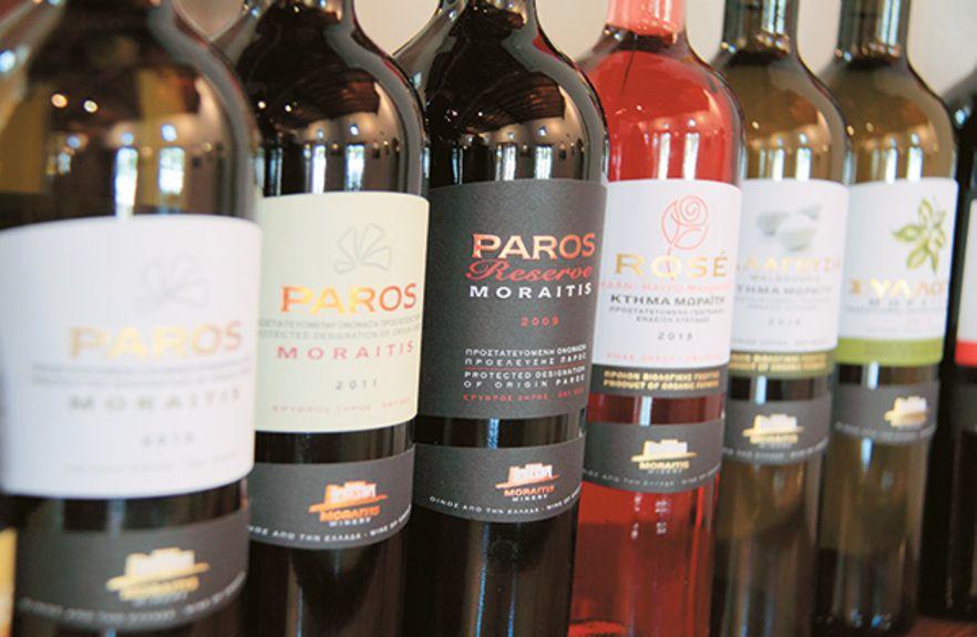 κρασιά Πάρου