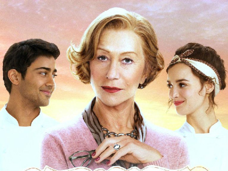 Helen-Mirren-And-Manish-Dayal-In-The-Hundred-Foot-Journey-Wallpapersedited