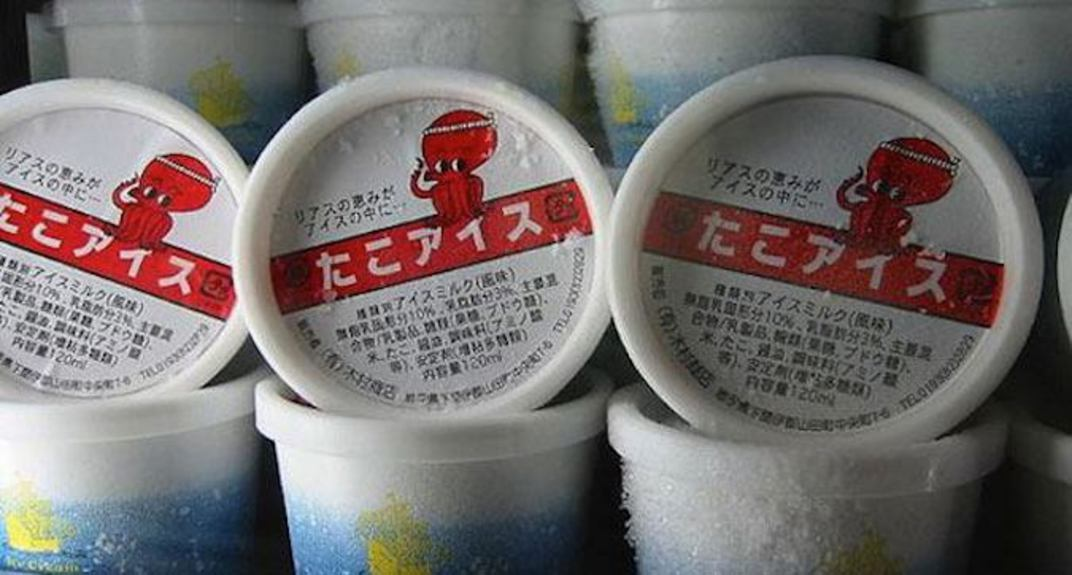 Octopus-icecream