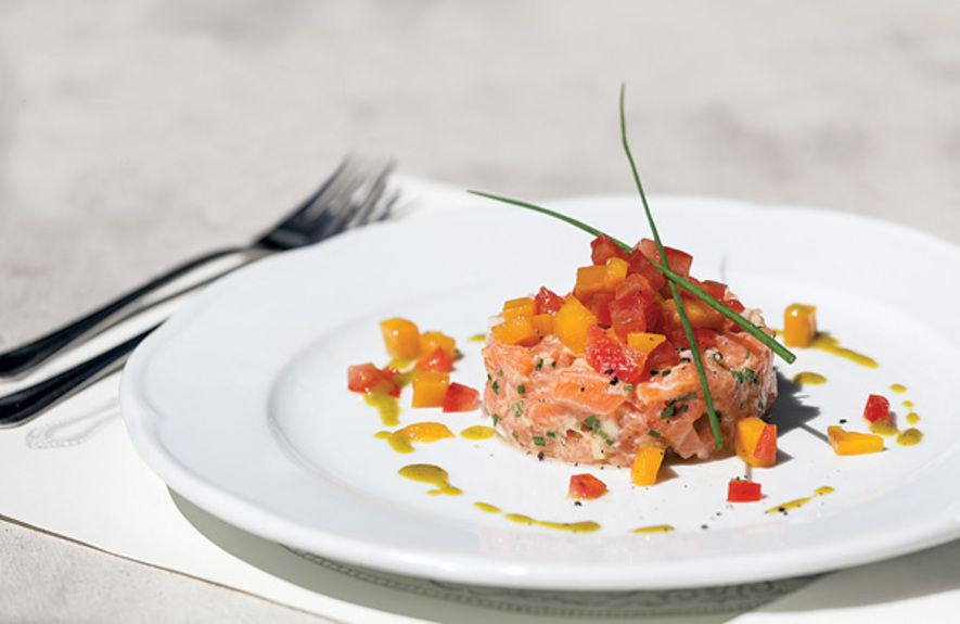 the-albion-restaurant-salmon-tartare