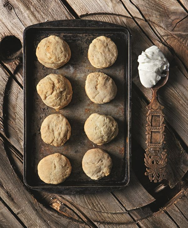 strogyla psomakia me yaourti & baking powder