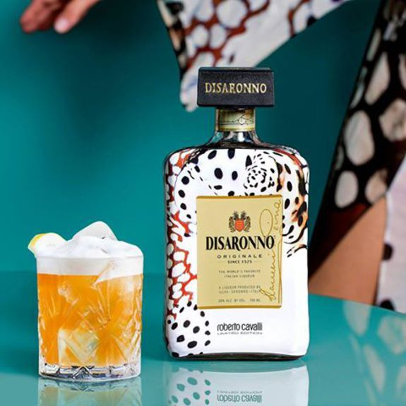 Disaronno wears Cavalli FB 2