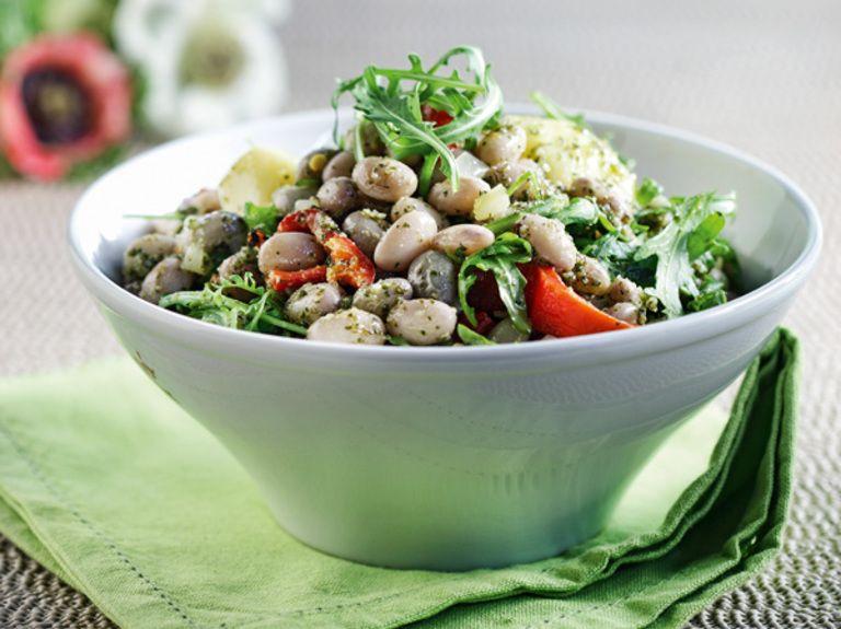 ANOIGMA-salata-me-fasolia-xantres