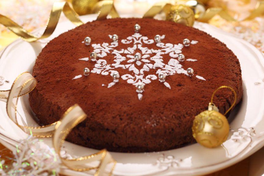 Christmas Cake Decorating Ideas Without Icing : Olivemagazine gr