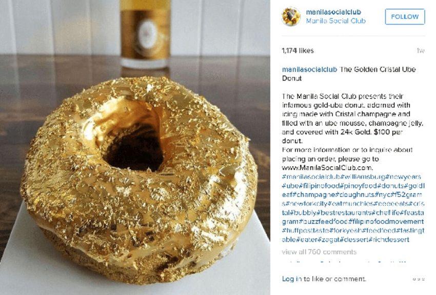Gold-Donut