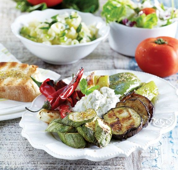 Perfect grilled vegetables - Make perfect grilled vegetables ...