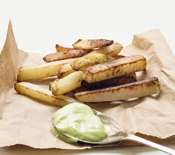 turnip-fries