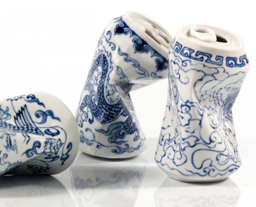 smashed-cans-sculptures-drinking-tea-lei-xue-1