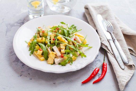 salata me anana