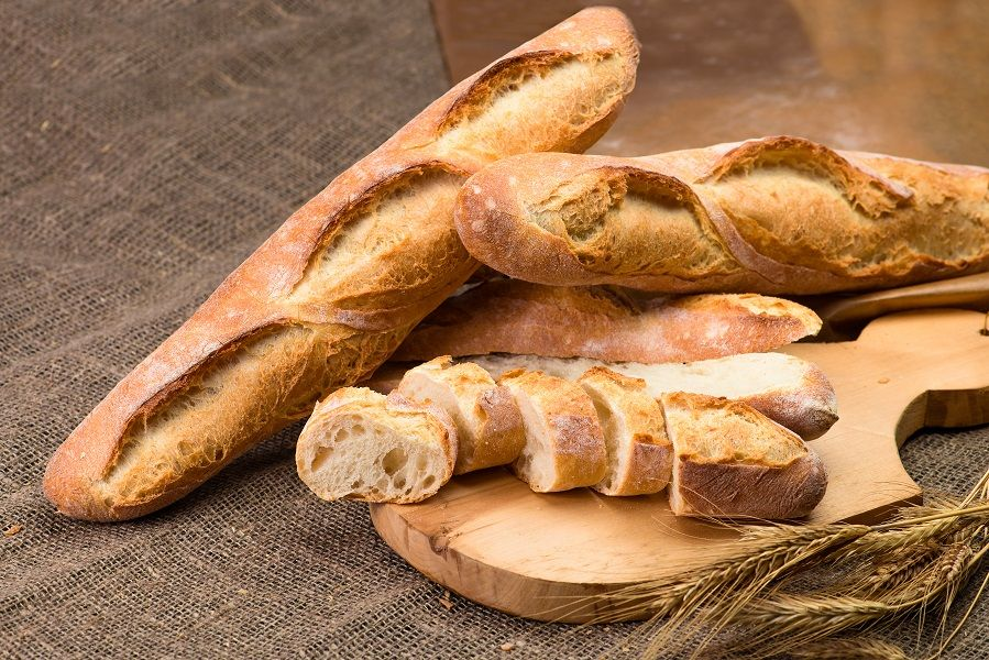 bread pswmi baguette