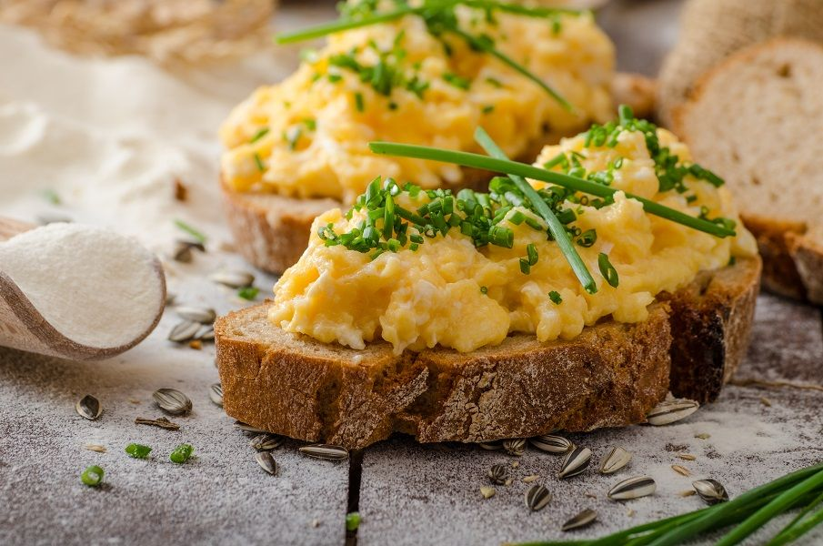 scrambled eggs avga