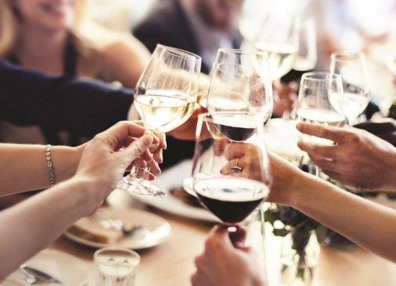 54308718 - business people party celebration success concept